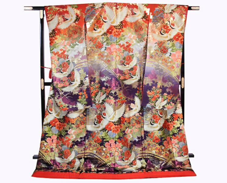 33 赤紫花鳥 [image 1 of 28]