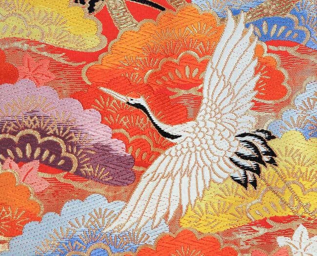 26赤オレンジ鶴飛翔 [image 2 of 43]
